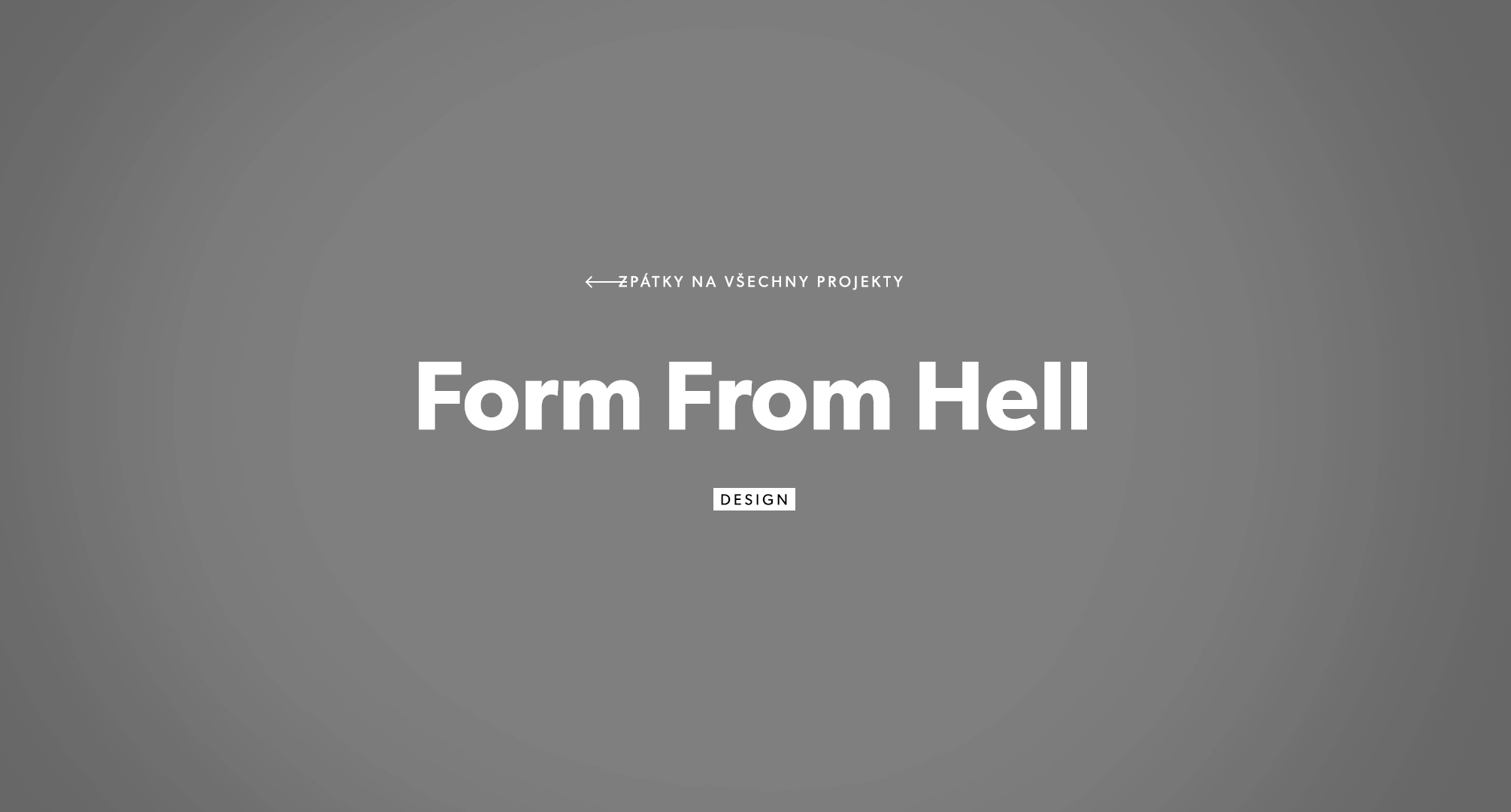 Form From Hell (MoroSystems)