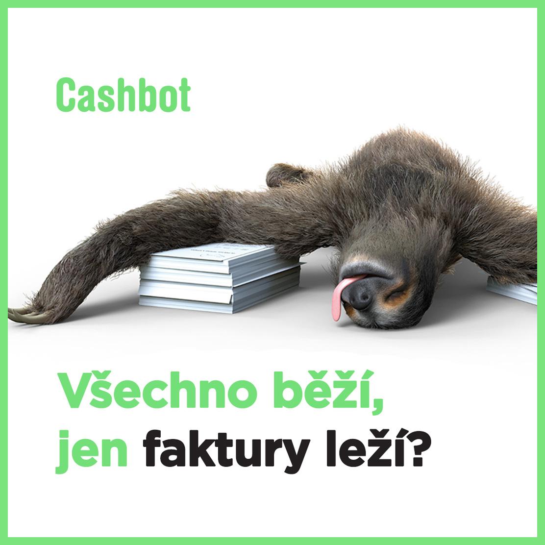 Cashbot - Bannery Lenochod - 1080x1080 - Lezi + logo 01